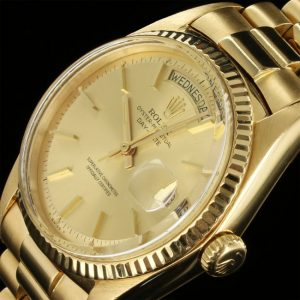 yellow gold rolex day-date 1803