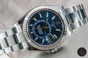 Blue Steel Replica Rolex Sky Dweller