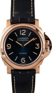 Panerai Luminor Base 8 Days Oro Rosso PAM 717 Replica